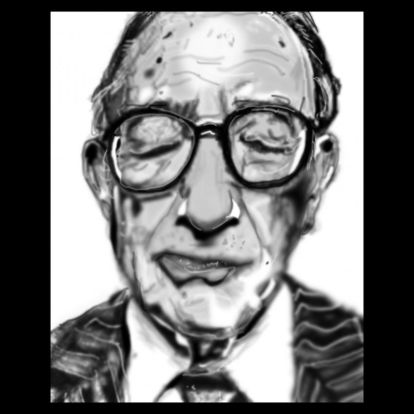 Alan Greenspan by Zilmari